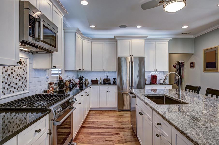 View of modern kitchen in Frederick MD